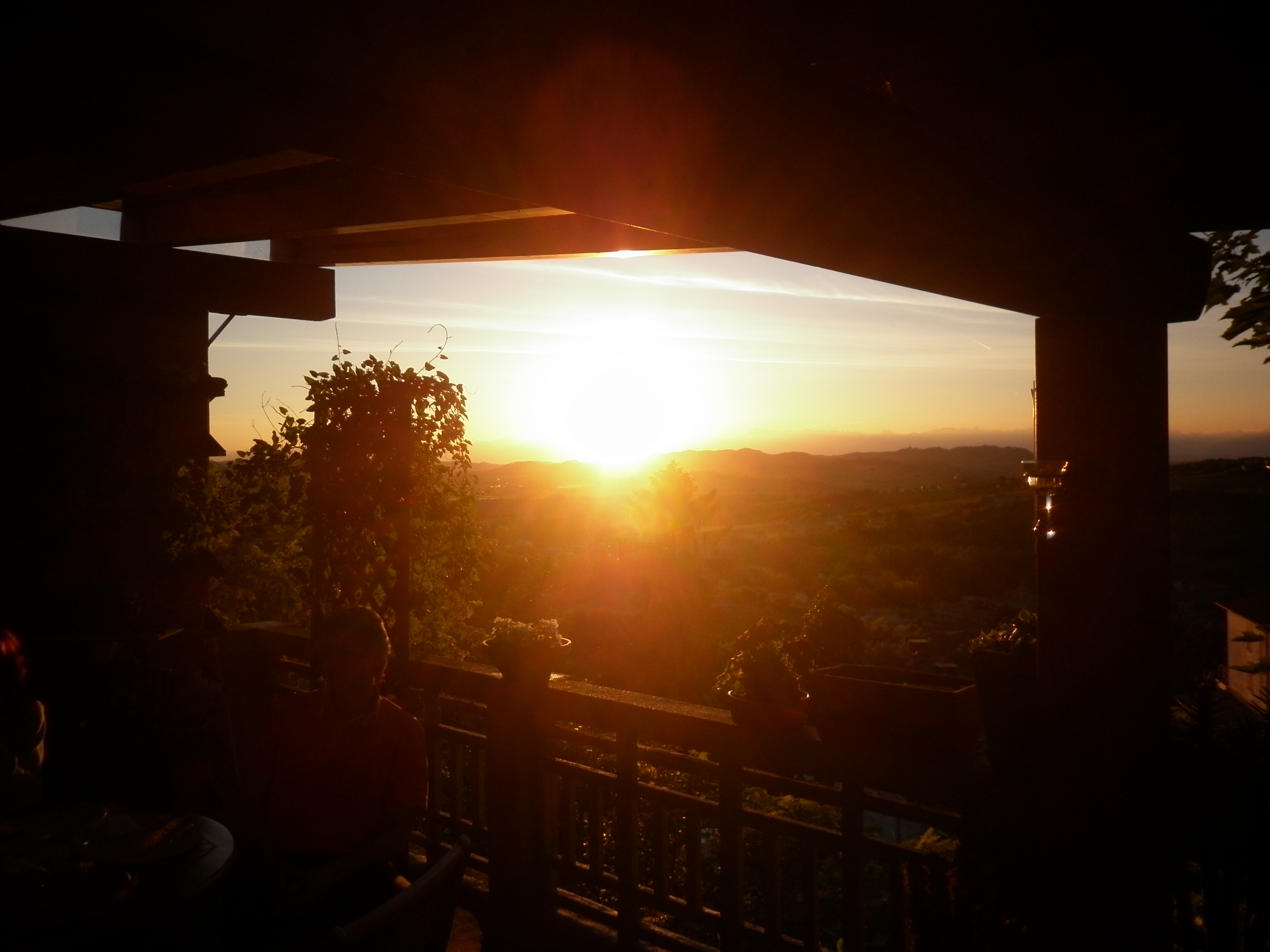 31 terrazzo tramonto